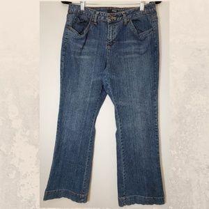 A.N.A denim blue jeans size 14 Petite